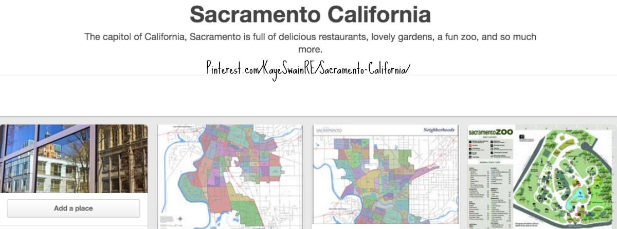 Kaye Swain Sacramento Roseville CA real estate agent blogger sharing Pinterest board Sacramento CA