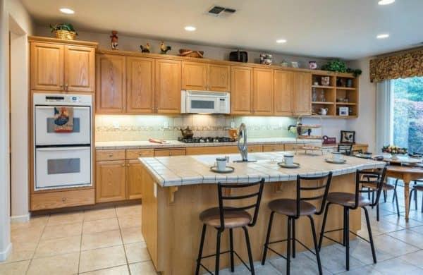Large kitchen in beautiful huge house for sale 1664 Goldstar Street, Roseville, CA 95747