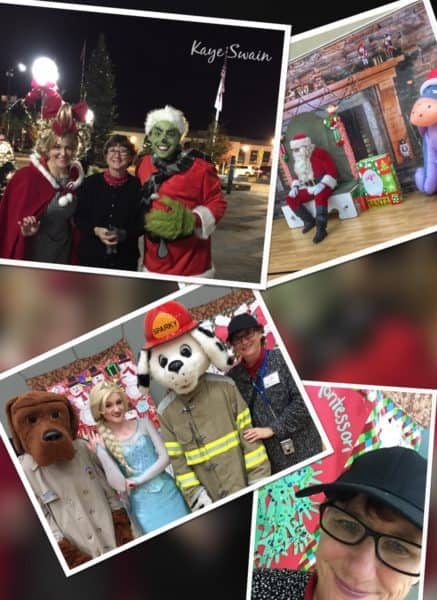 Kaye Swaiin Roseville Real Estate Agent sharing Roseville Downtown Holiday Celebration RCONA Santa in the Park 2016
