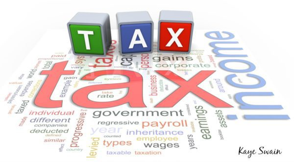 Kaye Swain Roseville Real Estate Agent sharing Tax Helps 2017