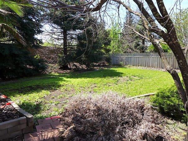Kaye Swain Roseville REALTOR sharing Sun City Roseville home for sale back yard
