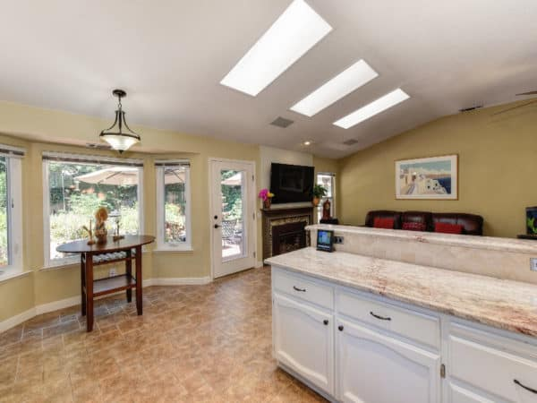 beautiful den skylights 1006 Killarney Street Roseville REALTOR Kaye Swain 916 768 0127