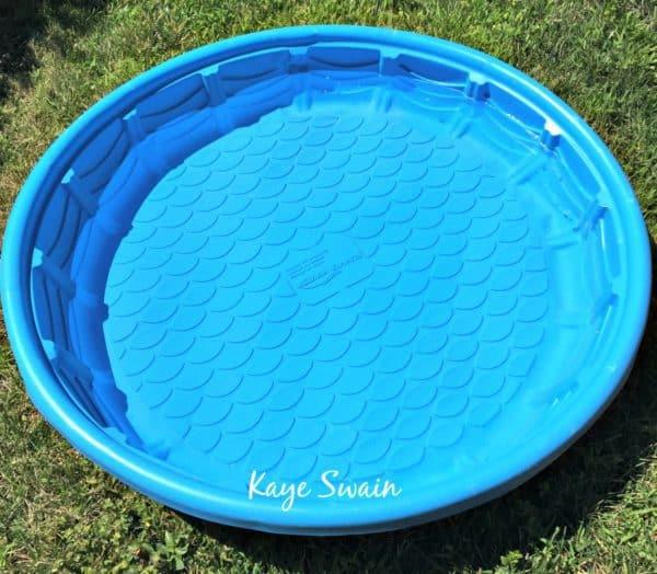 Kaye Swain Roseville REALTOR caregiver grandmother kiddy pool