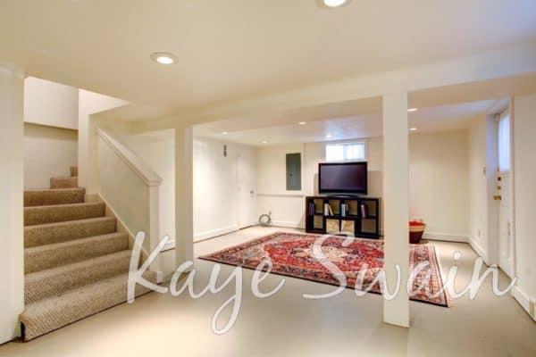 Kaye Swain Roseville REALTOR sharing basement homes for sale in Roseville CA