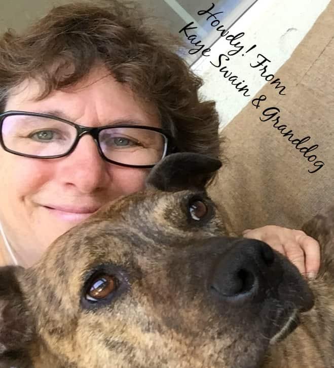 Selfie Hello Kaye Swain Granddog Roseville Real Estate Agent Blogger