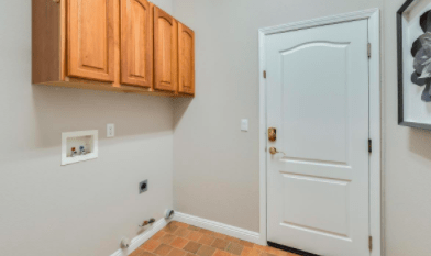Looking for single story homes for sale in Roseville CA Call Kaye Swain 916-768-0127 laundry room