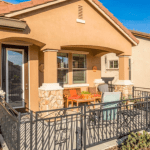 Lovely active senior Living Community in Silverado Homes Roseville CA Volonne front yard