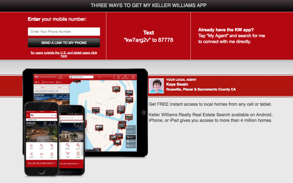 one of the best real estate apps from Kaye Swain Roseville Real Estate Agent