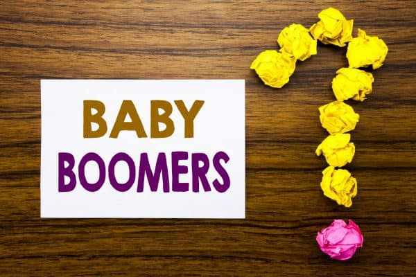 Baby boomer and senior citizen questions