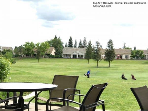 Kaye Swain sharing spring views at Sun City Roseville