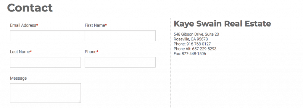 Request more info from Kaye Swain Roseville Real Estate Agent