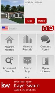 FREE Keller Williams Real Estate Mobile App from Kaye Swain REALTOR in Roseville CA - 3