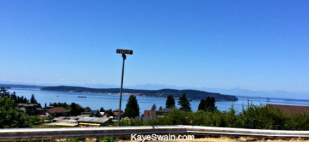 What a gorgeous view just half mile from a delightful home for sale in Steilacoom Washington-Pierce County