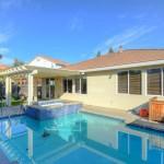 Kaye Swain Sacramento area REALTOR sharing 2621 Rogue Way West Roseville CA 95747 backyard and pool 2-1200