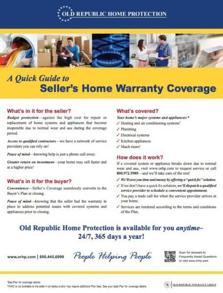 Kaye Swain Roseville real estate agent blogger shares Sellers Home Warranty Coverage Quick Guide