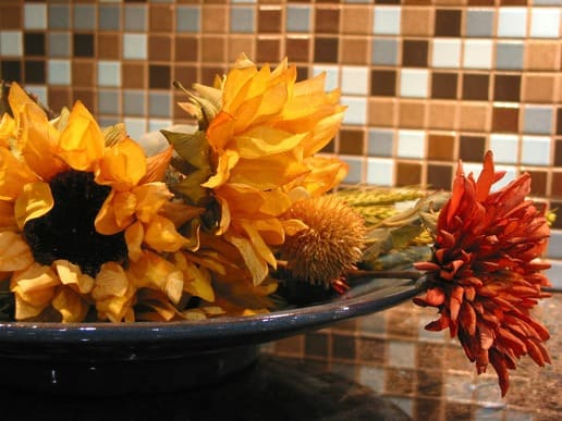 Kaye Swain Roseville Real Estate Agent sharing late summer autumn kitchen home decor