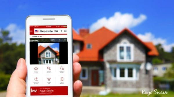 Kaye Swain Roseville Real Estate Agent uses social media internet selling a home tools