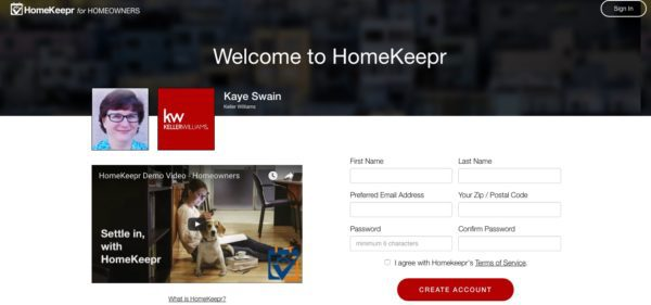 Homekeepr Free App for you