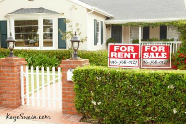 Kaye Swain Roseville REALTOR shares rental resources along with home buyer seller resources