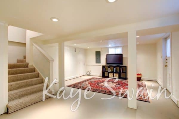 Kaye Swain Roseville REALTOR sharing basement homes for sale in Roseville CA