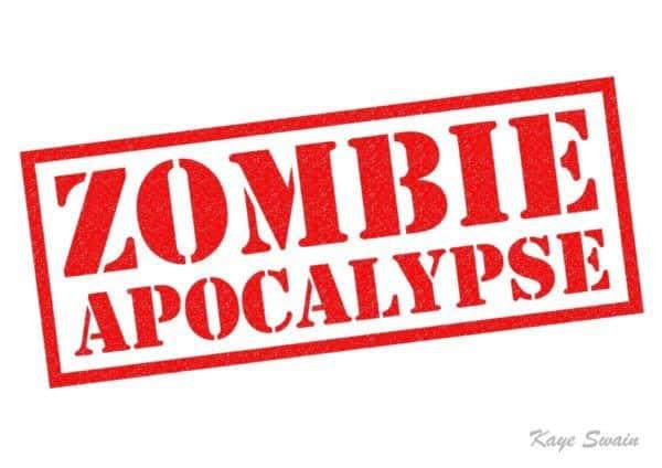 Roseville REALTOR Kaye Swain sharing zombie apocalypse info
