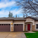 Looking for single story homes for sale in Roseville CA Call Kaye Swain 916-768-0127 front door 3 car garage