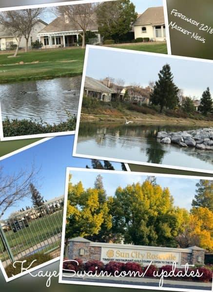 Kaye Swain sharing real estate market news trends West Roseville senior retirement communities Citrus Heights