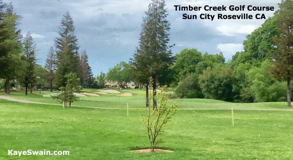 Timber Creek Golf Course at Sun City Roseville senior living community for Roseville seniors and boomers