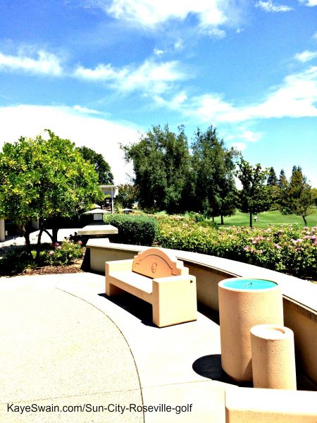 Great views wherever you walk in Sun City Roseville CA 1200