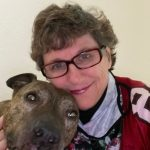 Kaye Swain Roseville REALTOR loves her grandpets like the dear dogs and the chickens