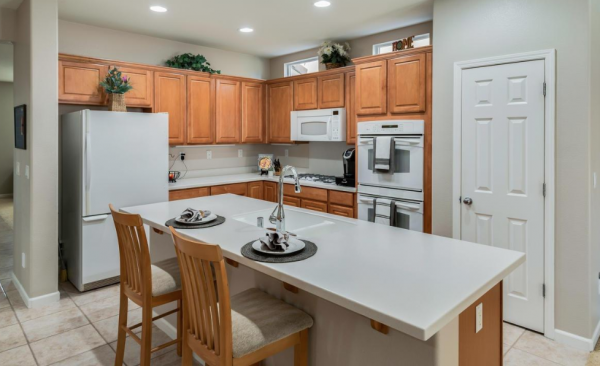 Lovely kitchen in this home sale Lincoln CA