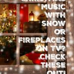 Winter weather in Roseville CA rarely includes snow but Comcast Xfinity fireplace channel does