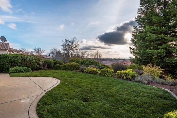 Kaye Swain Roseville real estate agent sharing gorgeous view from one of houses sale sun city lincoln hills