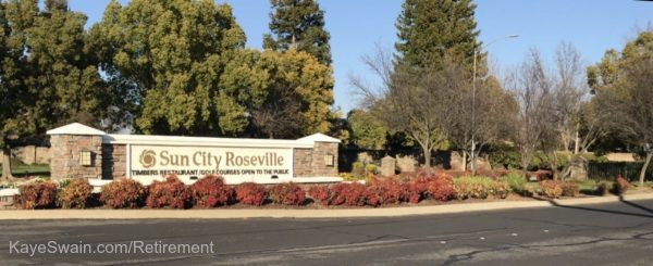 Sun City Del Webb Roseville CA at Fiddyment and Del Webb is one of 2 Del Webb Retirement Communities Roseville CA