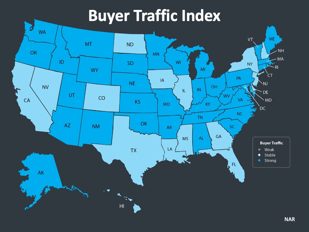 Kaye Swain Roseville Real Estate Agent sharing Buyer Traffic Index Map