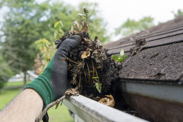 Be sure to clean the gutters of your Roseville home before putting on the market