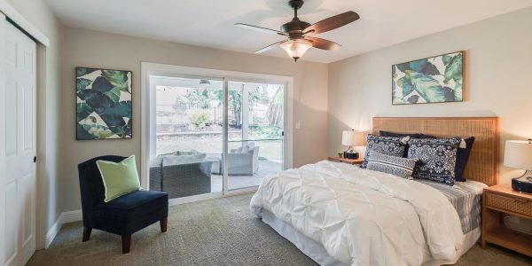 Bedroom in one of the beautiful Rocklin CA houses for sale