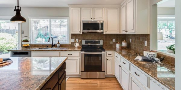 Check out the designer plumbing and lovely counter tops in one of the Rocklin CA homes for sale
