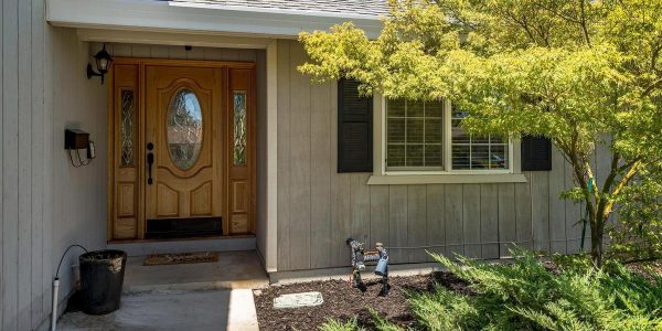 Lovely front door of this home-one of the few rocklin ca homes for sale currently