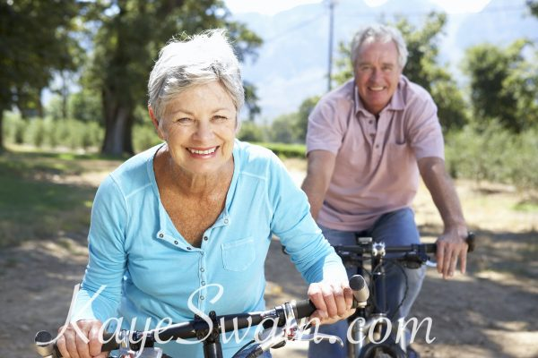 Bike riding is one of the many pleasures you can enjoy at Del Webb Sun City Roseville CA homes