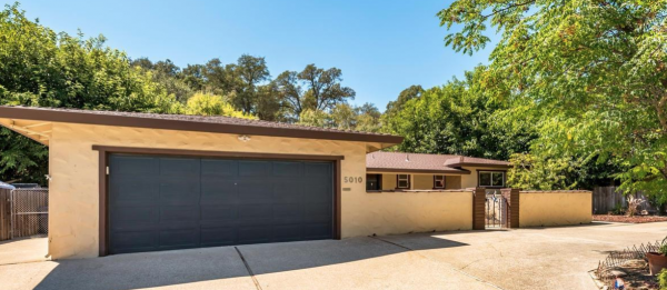 Garage AND rv access AND tool shed in one of the lovely single story homes for sale in Rocklin CA