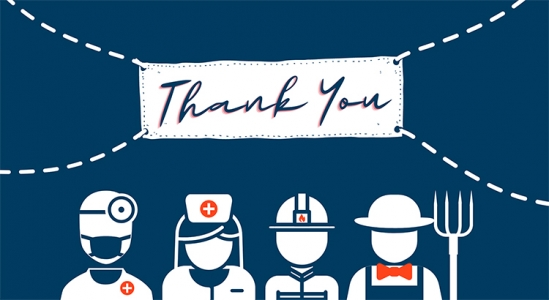 Thank You, Essential Workers   Kaye Swain Roseville REALTOR