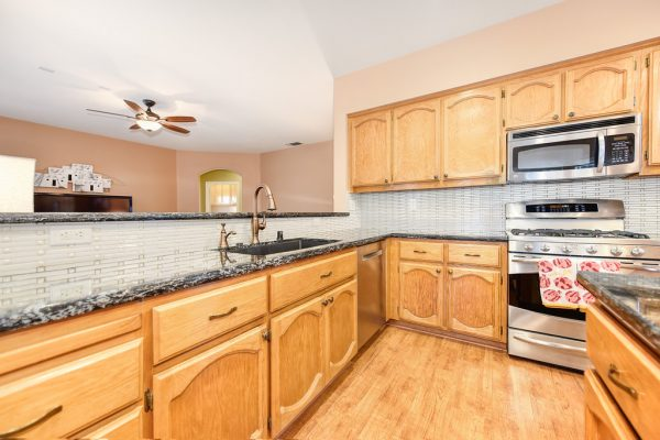 Moving to the kitchen during this Virtual Open House Roseville CA