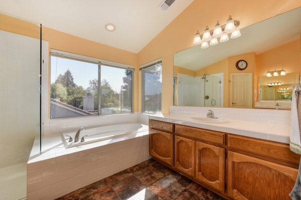 Check out this master ensuite in one of the lovely West Roseville homes for sale by Kaye Swain REALTOR