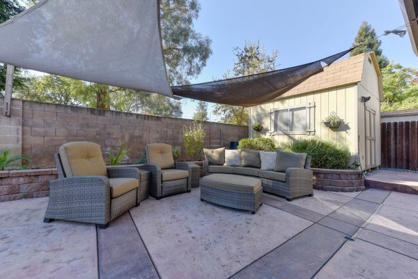 outdoor living space homes sale roseville california