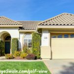 Golf view home for sale in Roseville CA listing present by Roseville REALTOR Kaye Swain T