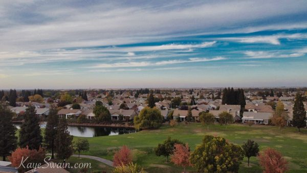 Sun-City-Roseville-retirement-golf-community-drone-photo