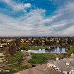 Sun-City-Roseville-retirement-golf-community-drone-photo-water-hole