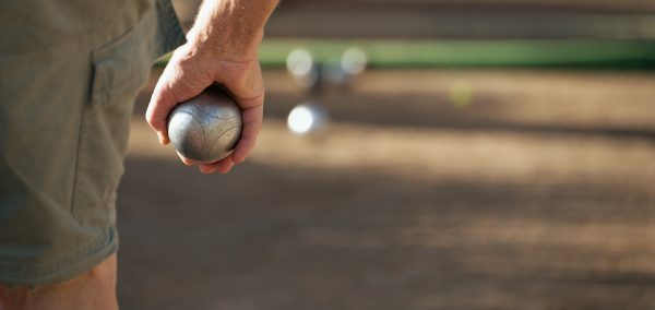 Bocce ball is popular with most if not all of the 6 active senior retirement communities in Roseville Rocklin and Lincoln