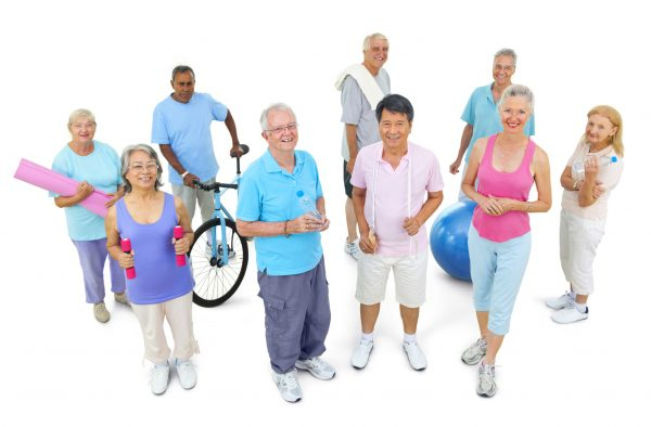 Enjoy a variety of great exercise options at the lovely retirement home communities in Roseville Lincoln Rocklin CALL KAYE